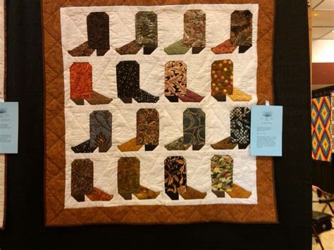 Cowboy Boot Quilt Pattern by 950 Best Images About Cowboy Quilt Ideas On