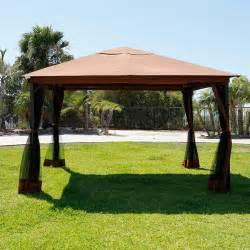 patio gazebo walmart gazebo canopy outdoor walmart com