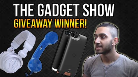 the gadget show giveaway winner announced youtube - Gadget Show Giveaway