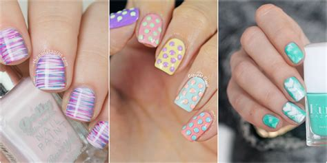 Nail Desings by 21 Easter Nail Designs Easy Easter Nail Ideas