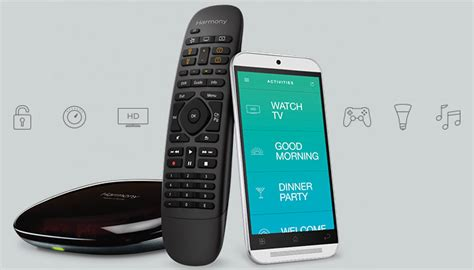 harmony home smart home logitech