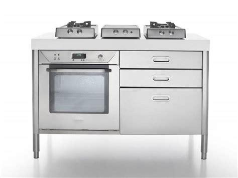 piano cottura alpes inox cucina a libera installazione in acciaio inox cottura 130