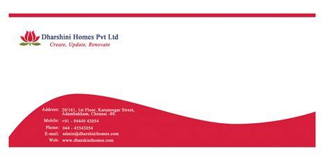envelope design for dharshini homes iglodlabs