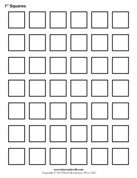 Tim Van De Vall Comics Printables For Kids Squares Template