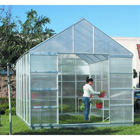 Garden Greenhouse 10 Ft X 12 Ft Greenhouse With 4 Vents