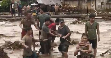 Philippines Search For Rescuers Search For Philippine Victims As Toll Rises To 200 Nbc News