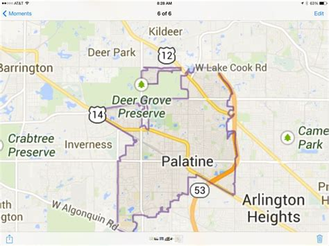 map of palatine illinois pin by celeste barr on favorite palatine il pics places