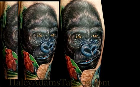 gorilla tattoos gorilla by tattoonow