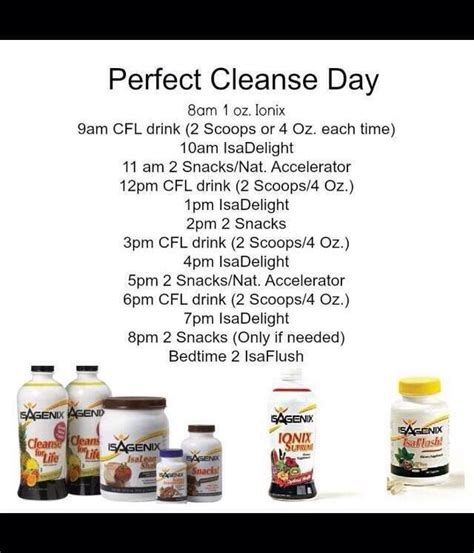 Cleanse Smart 14 Day Detox What To Eat by Best 25 Isagenix Meal Plan Ideas On Healthy