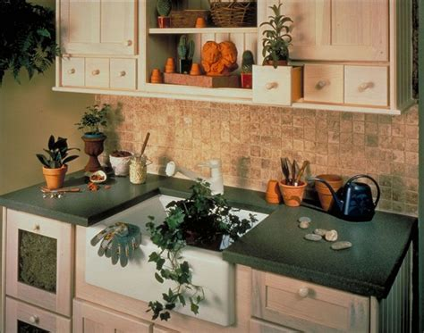 Green Corian Countertop Decorating Cents Form Function