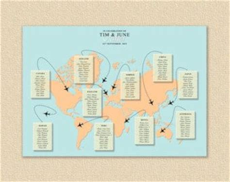 Hochzeitseinladung Weltkarte by Hochzeit Reisen And Welt On