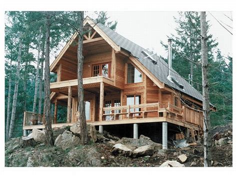 cabin style houses a frame house plans a frame home plan is a weekend cabin design 010h 0004 at thehouseplanshop