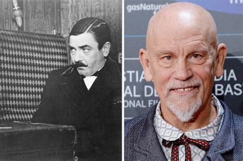john malkovich as poirot i m being poirot john malkovich takes on role of iconic