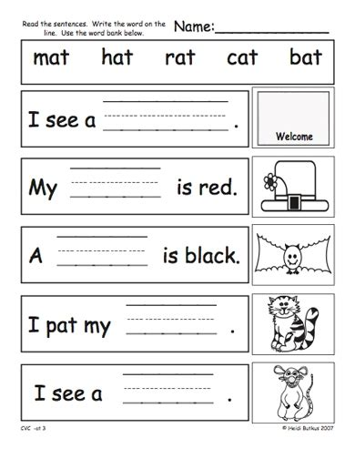 printable cvc games for kindergarten cvc worksheets for kindergarten worksheets releaseboard
