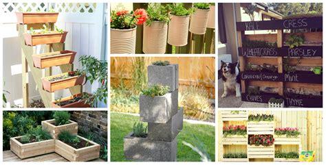 Unique Planter Boxes by 7 Unique Diy Garden Planter Boxes Diy Thought