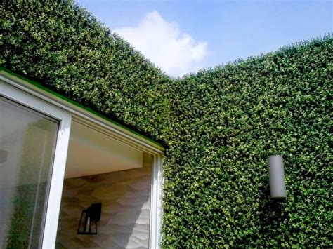 garden wall panels vertical garden wall artificial hedge panels modern