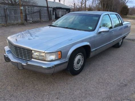 95 cadillac fleetwood for sale sell used 1995 cadillac fleetwood brougham 134k lt1