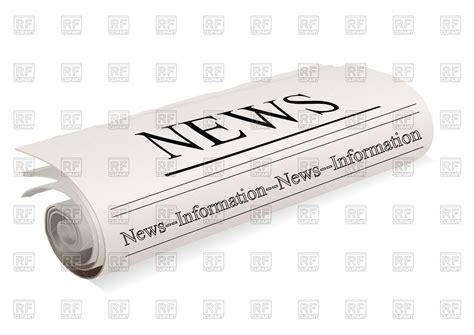 eps clipart newspaper vector image 88762 rfclipart
