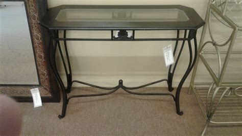 Metal Glass Top Console Table Delmarva Furniture Consignment Glass Top Sofa Table Metal