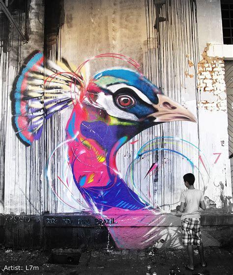 cool l coolpics awesome graffiti birds 11 pics