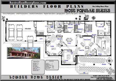 house design books australia blueprints acreage house home floor plans australian house