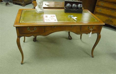 cherry wood writing desk provincial writing desk in cherrywood