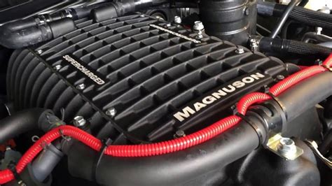 Toyota Tundra Supercharger Supercharged 2016 Toyota Tundra Trdpro Magnuson