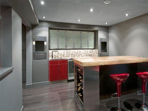 Home Bar Interior by Modern Home Bar Basement Ideas Contemporary Basement