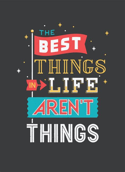 Poster Tipografi Motivasi Enjoy The Things Pigura monday typography quotes 44 typostrate