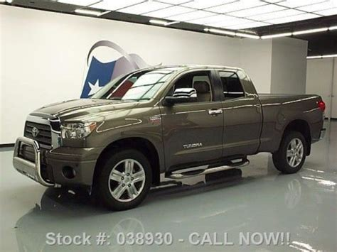 manual cars for sale 2008 toyota tundramax seat position control purchase used 2008 toyota tundra ltd dbl cab 4x4 htd leather 20 s 49k texas direct auto in