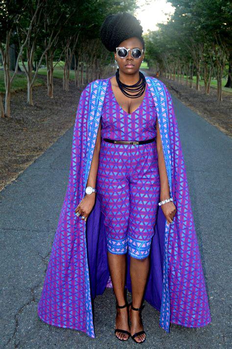 ankara clothes 2015 ankara print cape capri jumpsuit for all things ankara