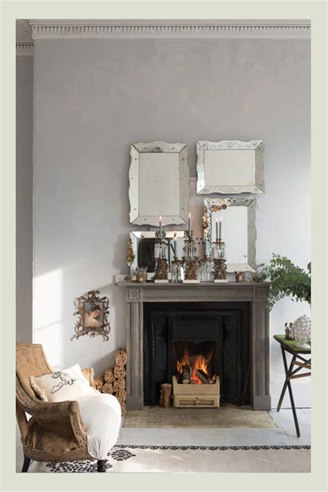 17 best ideas about mirror above fireplace on