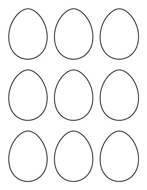 printable egg template printable small egg pattern use the pattern for crafts