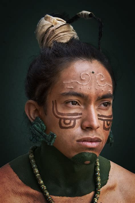 aztec hair style mayan body art body art pictures