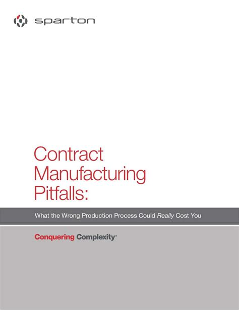 design and build contract pitfalls contract manufacturing pitfalls what the wrong production