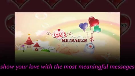 images of love with message love message all sms and messages for your love v2 youtube