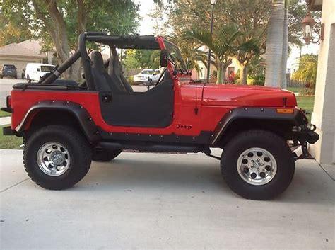jeep wrangler 4 door orange buy used 1990 jeep wrangler sahara sport utility 2 door 4