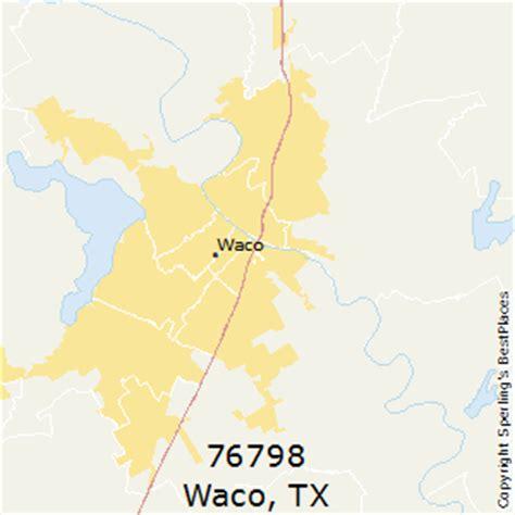 waco texas zip code map best places to live in waco zip 76798 texas