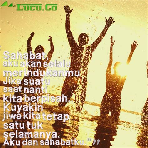 gambar kata kata mutiara perpisahan  sahabat sedih