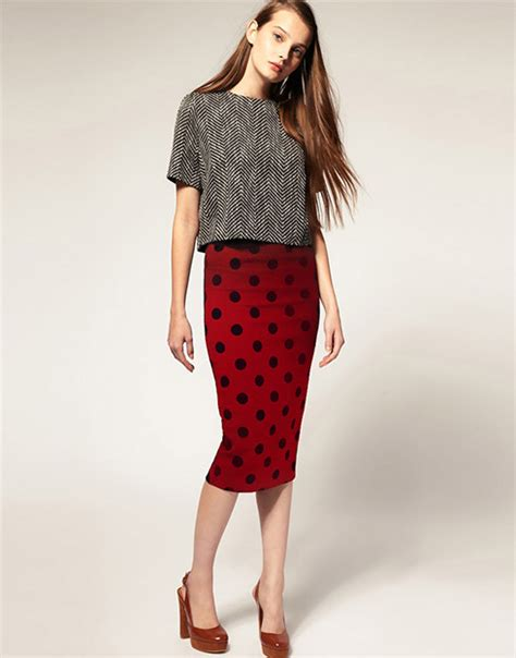 take the bombshell out of a pencil skirt ylf