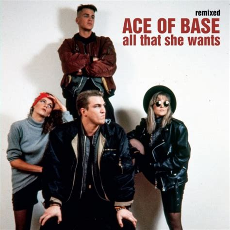 ace of base all that she wants remixed ace of base
