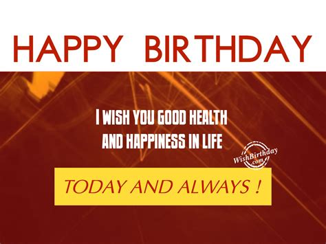 Birthday Wishes For Health And Happiness Birthday Wishes With Blessings Birthday Images Pictures