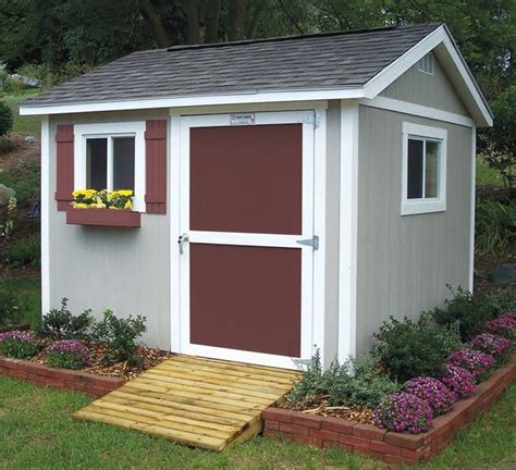 brick around shed with mulch and flowers gettin dirty pinterest gardens at the top and