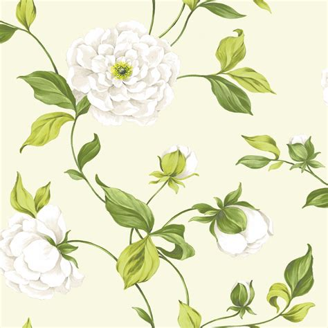 Floral In Green diy at b q
