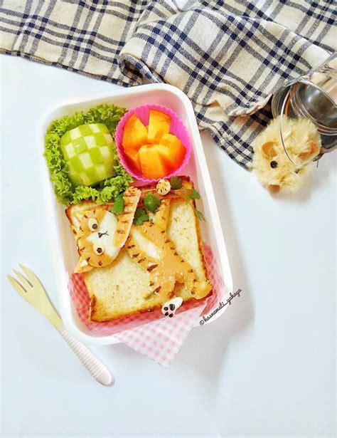 idea kreatif comel lunch box  anak  tak suka