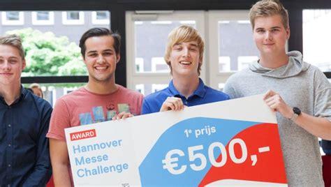 challenges of emerce leerlingen twents college winnen hannover messe