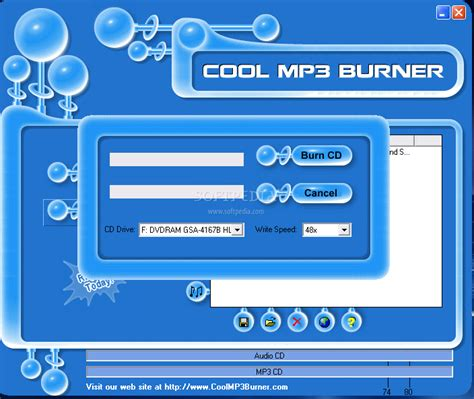 free mp burner cool mp3 burner download