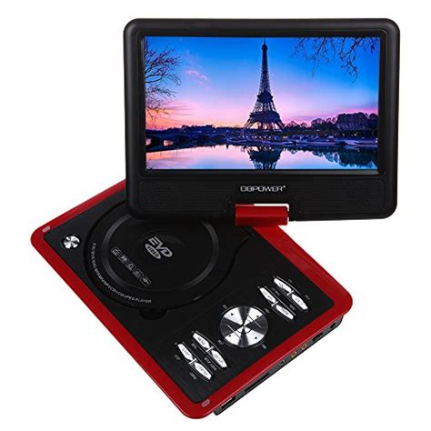 format mp4 dvd player best deals dbpower 9 5 portable dvd player with swivel