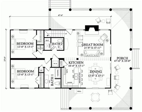 bunkhouse floor plans william e poole designs bucky s bunkhouse