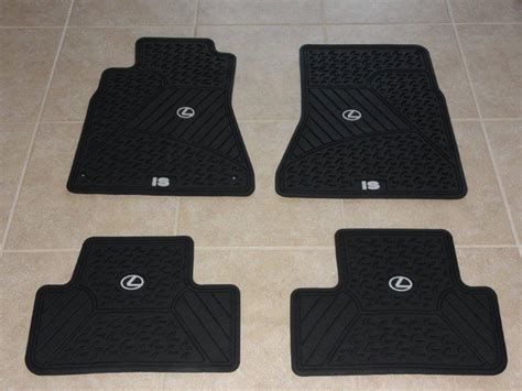 Lexus Is 250 Floor Mats by Can Toronto Lexus Is Rubber All Season Mats Club Lexus Forums